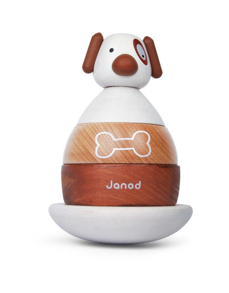 Janod Janod Stapeltuimelaar hond