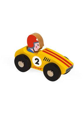 Janod Janod Racing racer geel