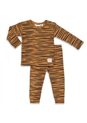 Feetje Feetje pyjama Tiger taylor Camel