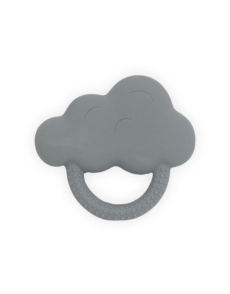 Jollein Jollein Bijtring rubber Cloud storm grey