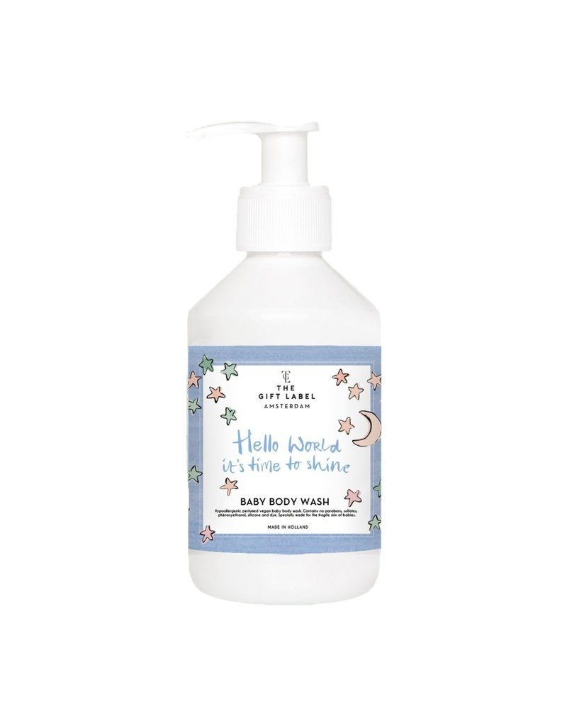 Gift Label The Gift Label baby body wash Hello world