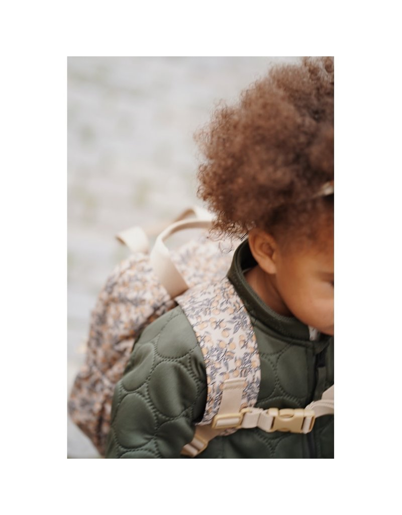 konges slojd Konges Slojd backpack Loma mini Orangery beige