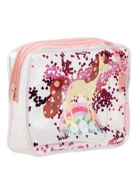 A little lovely compagny Toilettasje Glitter paard