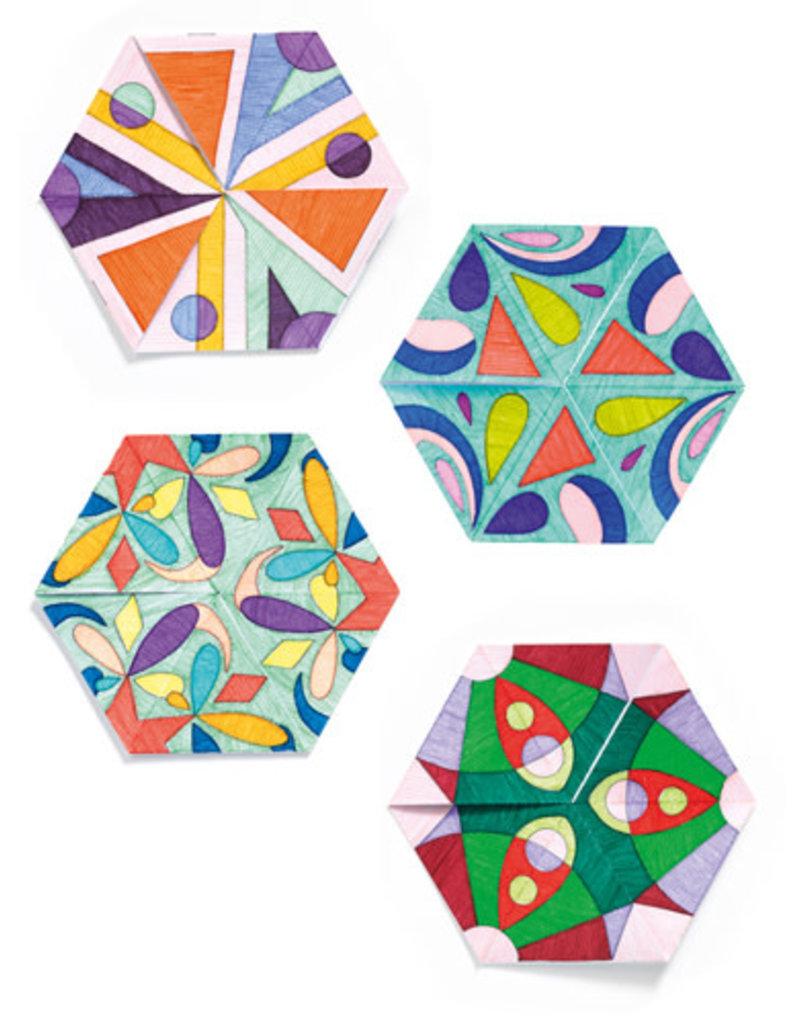 Djeco Djeco kleurplaten mandala's dj09656