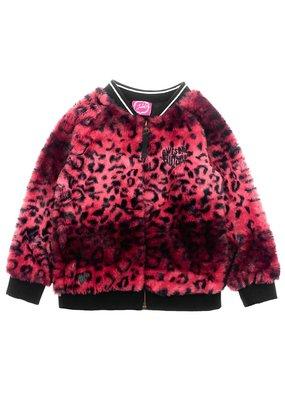 Jubel Jubel vest fake fur - Animal Attitud roze