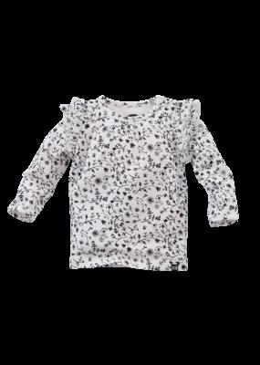 Z8 Newborn Z8 newborn shirt Mockingbird coconut milk/aop