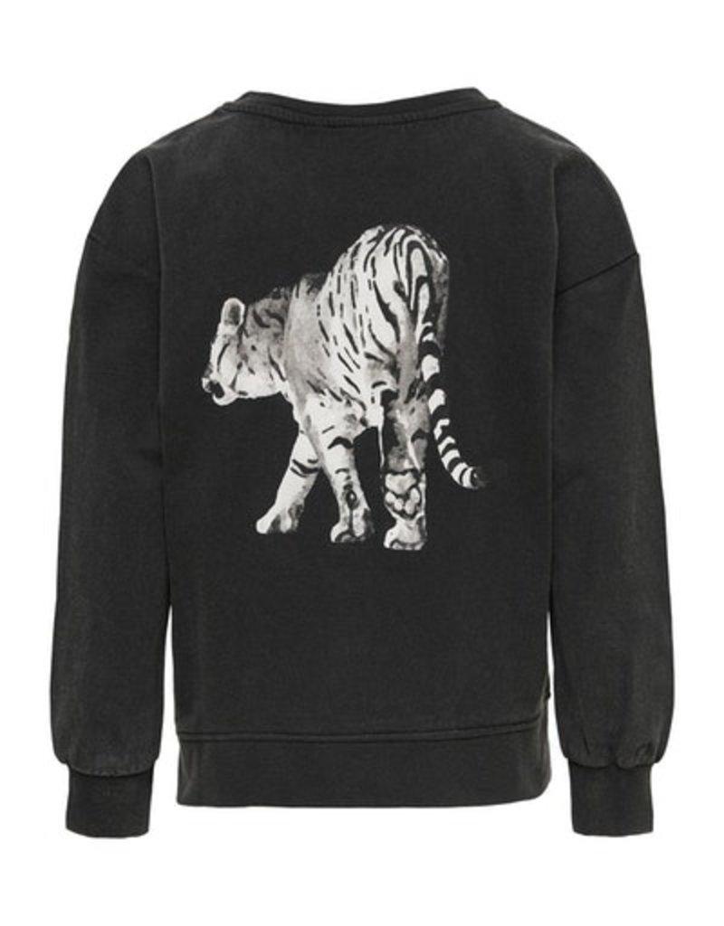 Kids Only Kids Only sweater KONLucinda black tiger