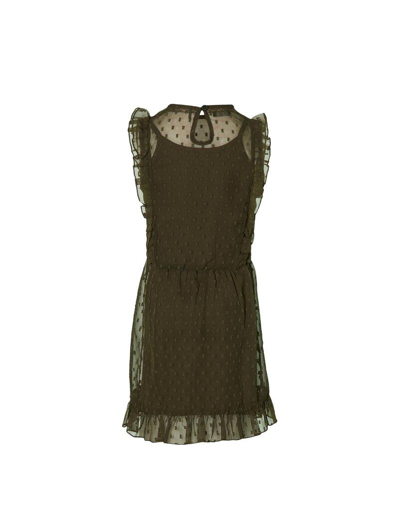Levv Levv jurk Malou olive