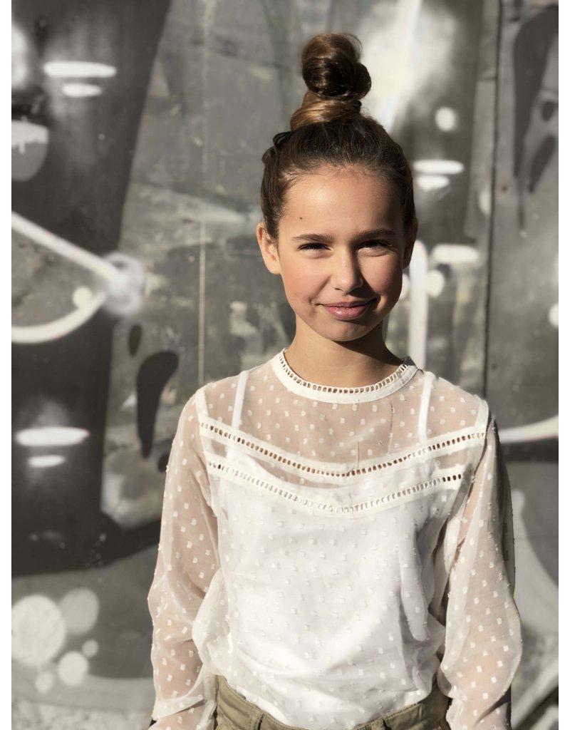 Levv Levv blouse Marion off white