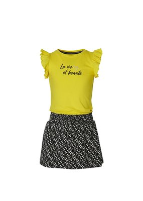 Quapi Quapi jurk Falijne summer yel