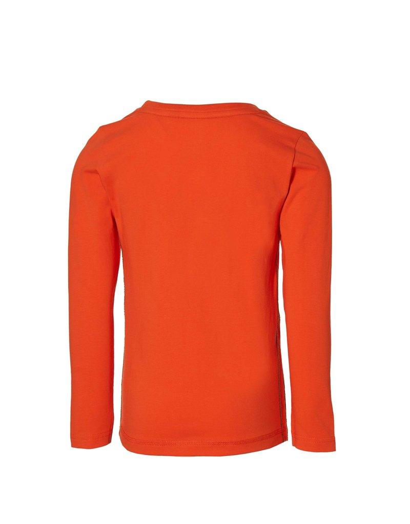 Quapi Quapi longsleeve Fedde orange red