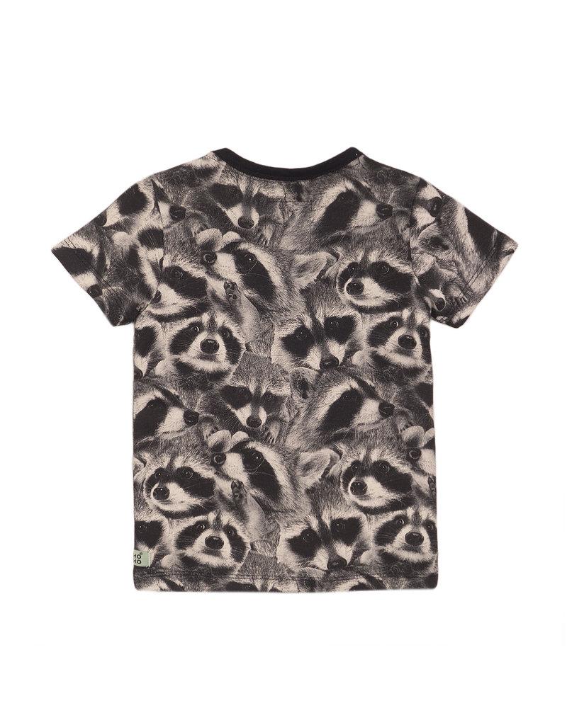 Koko Noko Koko Noko t-shirt ss dark grey 2 a