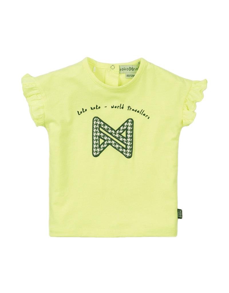 Koko Noko Koko Noko t-shirt ss neon yellow