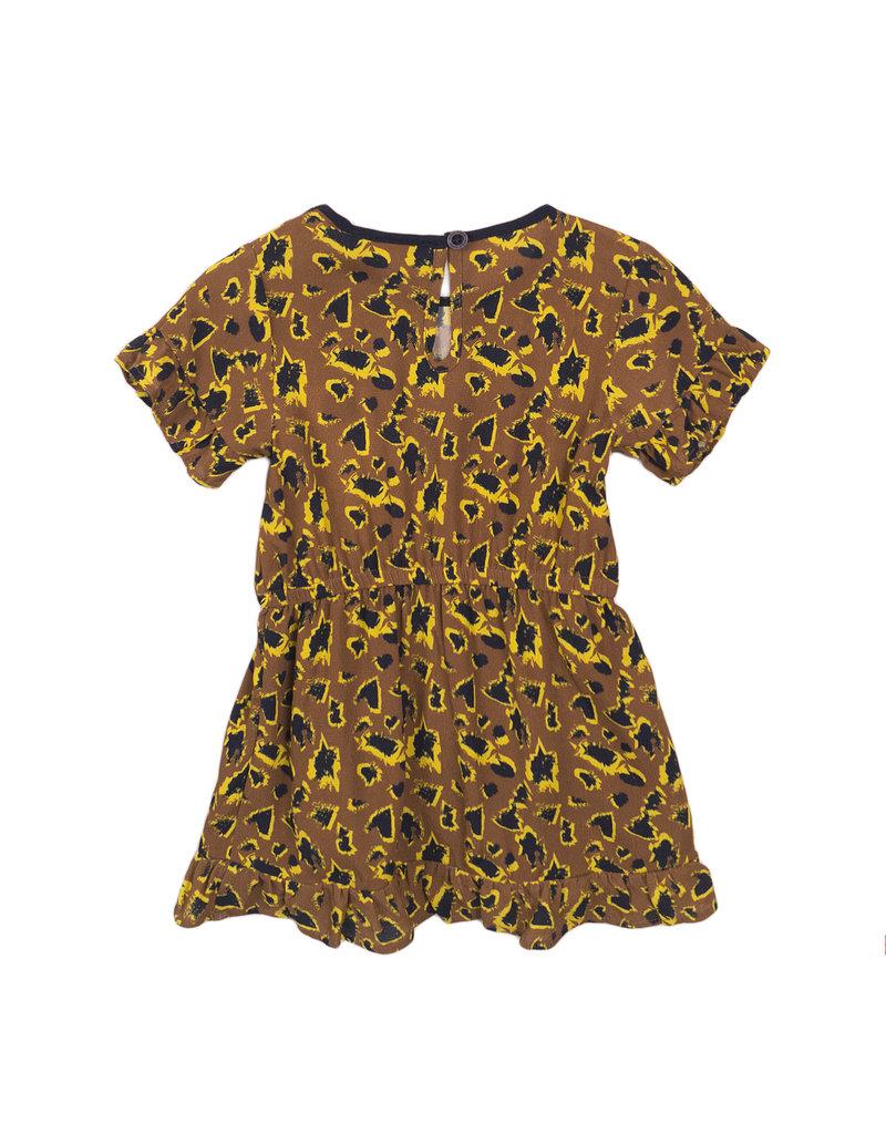 Koko Noko Koko Noko dress camel aop
