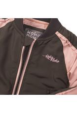 Koko Noko Koko Noko zomerjas dark grey + pink