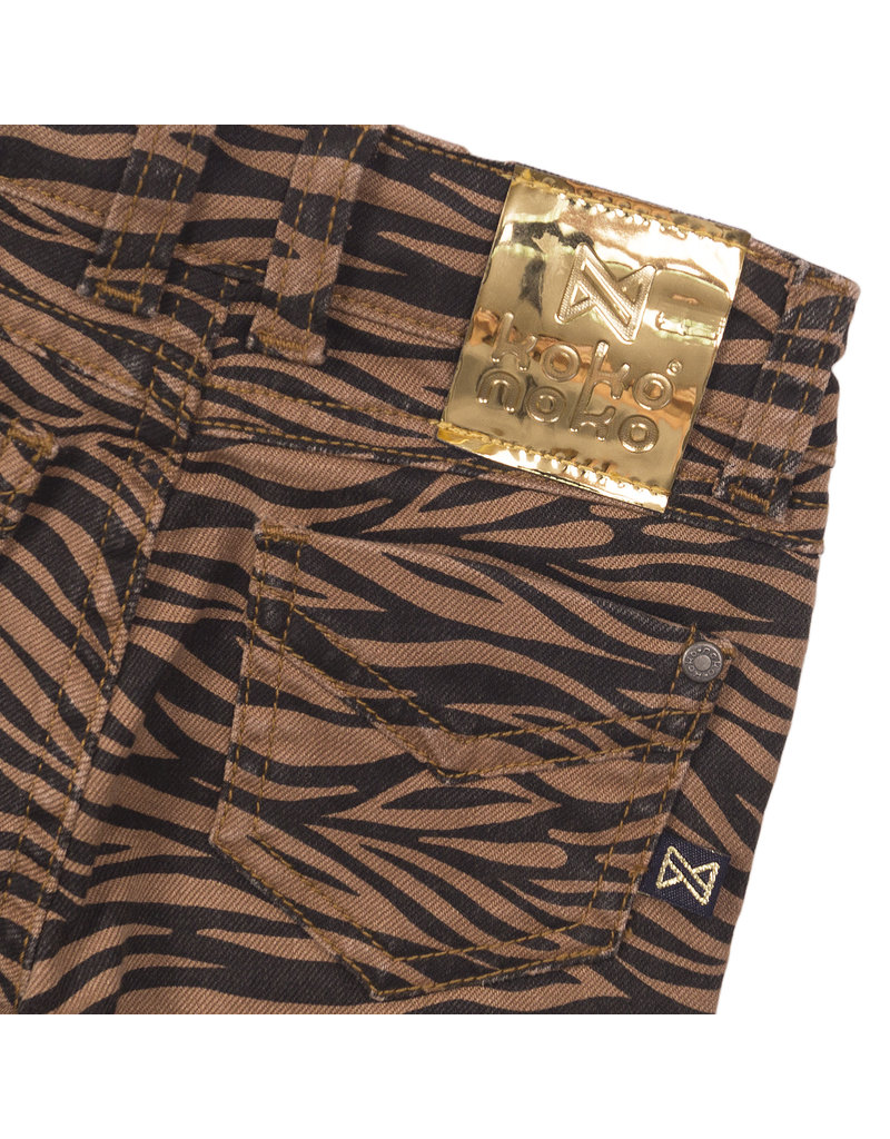 Koko Noko Koko Noko jeans camel + navy