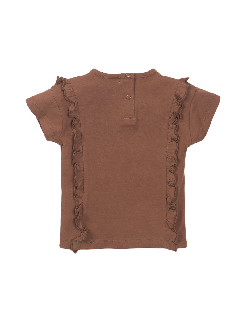 Koko Noko Koko Noko t-shirt ss camel