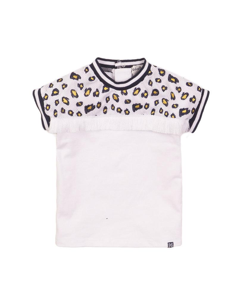 Koko Noko Koko Noko t-shirt white aop