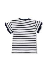 Feetje Feetje shirt streep Sweet Gelato marine