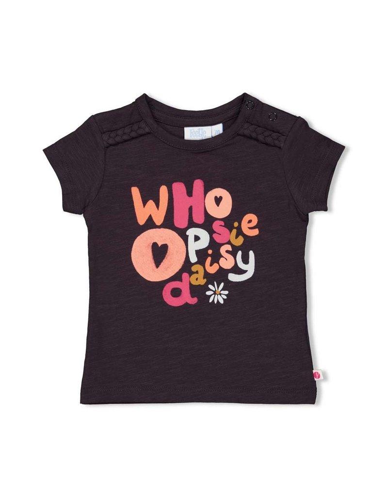 Feetje Feetje shirt Choose Whoopsie Daisy antraciet