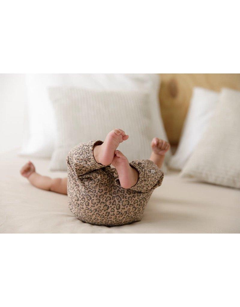 Feetje Feetje tuinbroek Panther Cutie zand