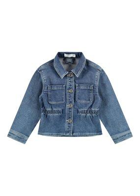 Name-it Name-it spijkerjasje NMFBtomo medium blue denim