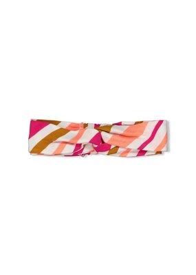 Jubel Jubel haarband streep Whoopsie Daisy neon koraal