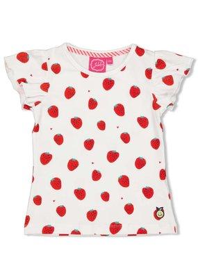 Jubel Jubel shirt aop Tutti Frutti wit