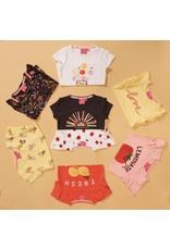 Jubel Jubel shirt aop Tutti Frutti geel