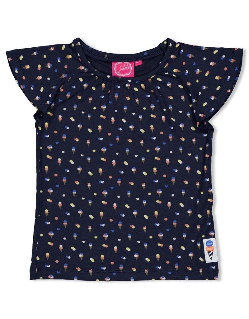 Jubel Jubel shirt aop Sweet Gelato marine