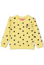 Jubel Jubel sweater aop Tutti Frutti geel