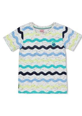 Sturdy Sturdy shirt aop Smile & Wave wit