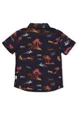 Sturdy Sturdy blouse Happy Camper antraciet