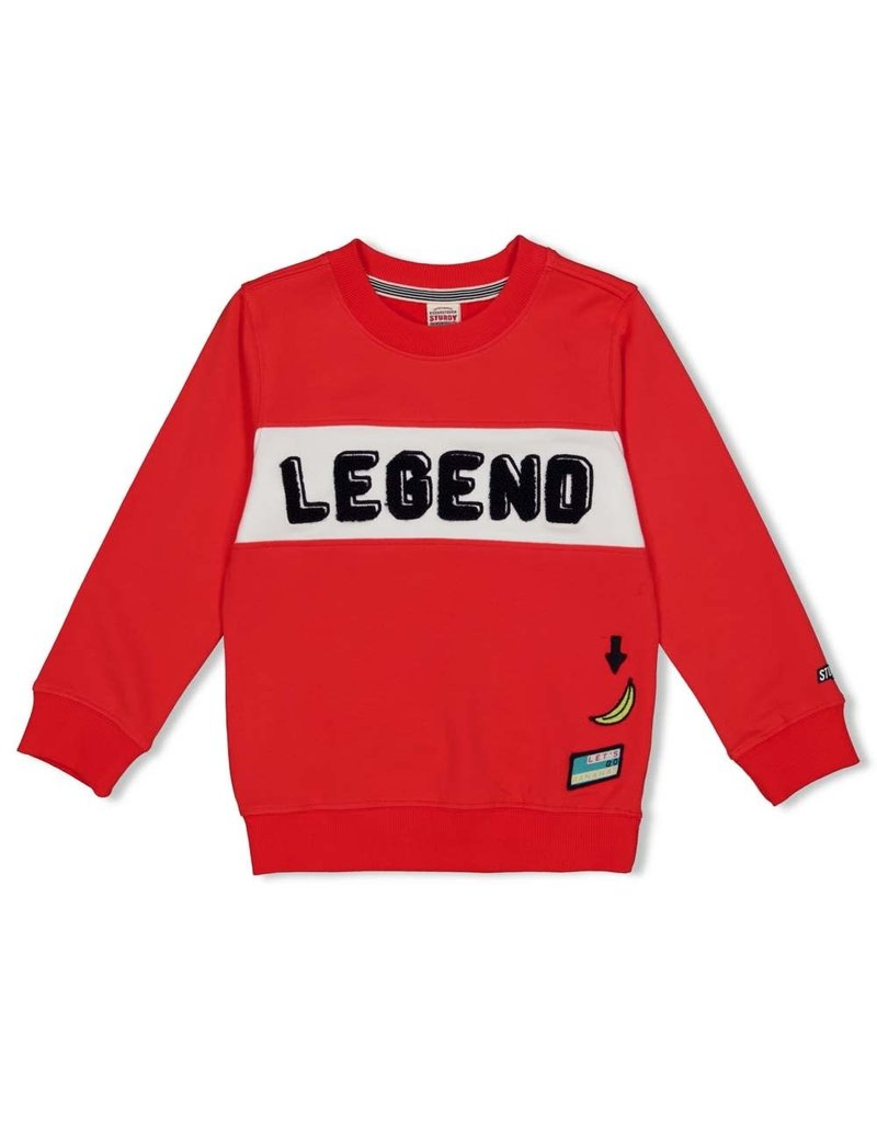 Sturdy Sturdy sweater Hero Playground rood