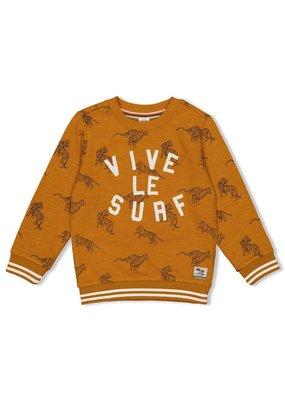Sturdy Sturdy sweater aop Happy Camper okergeel