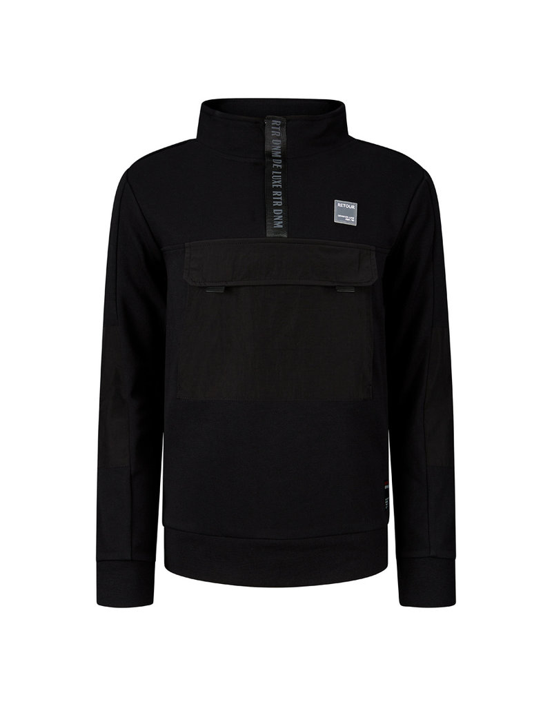 Retour Retour sweater Randy black