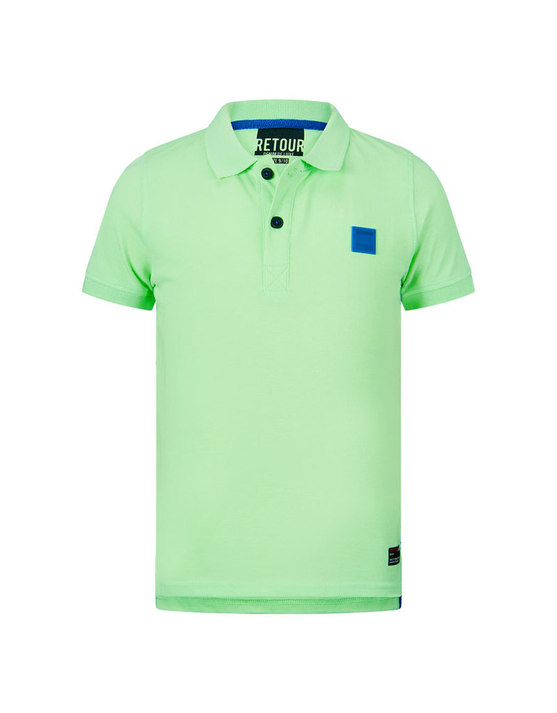 Retour Retour polo Lucas bright  mint