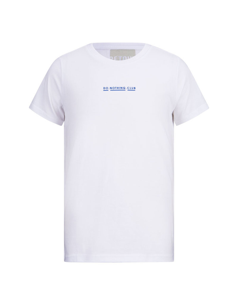 Retour Retour shirt Chiel white