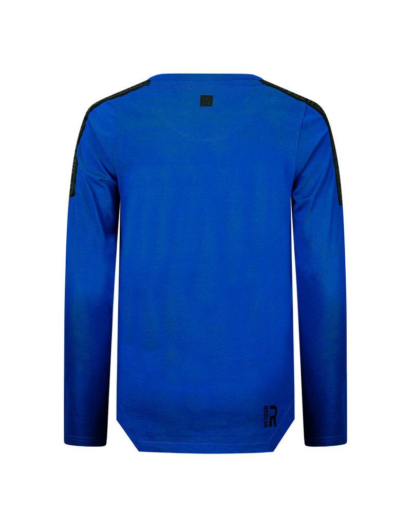 Retour Retour shirt Raoul mid blue