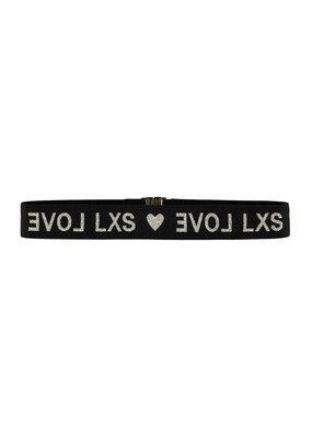 Looxs Looxs elastic belt black
