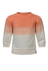 Looxs Looxs dip dye sweater salmon