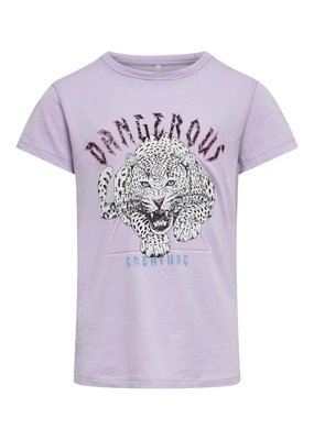 Kids Only Kids Only shirt KONLucy orchid bloom dangerous