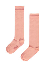 Like Flo Like Flo girls ajour kneesock lt pink