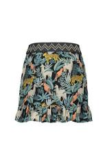 Like Flo Like Flo girls AO leaf woven ruffle skirt leaf