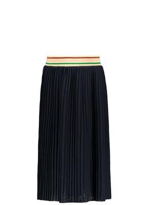 Like Flo Like Flo girls jersey plisse skirt maxi navy