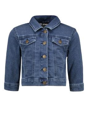 Like Flo Like Flo girls denim jacket light blue