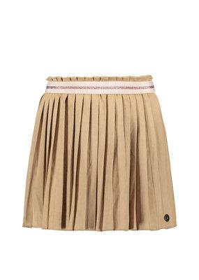 Like Flo Like Flo girls suede plisse skirt mud