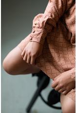 Levv Levv jurk Magda rust retro