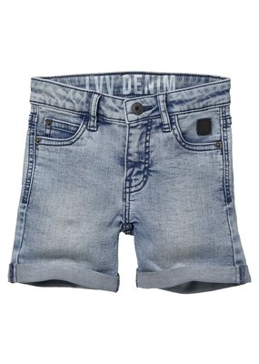 Levv Levv jeans short Nuka light grey denim