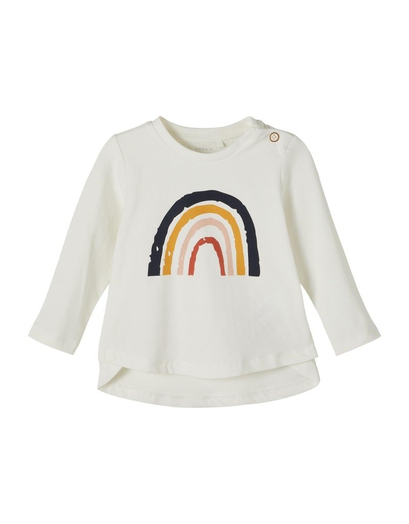 Name-it Name-it shirt NBFDaisi snow white